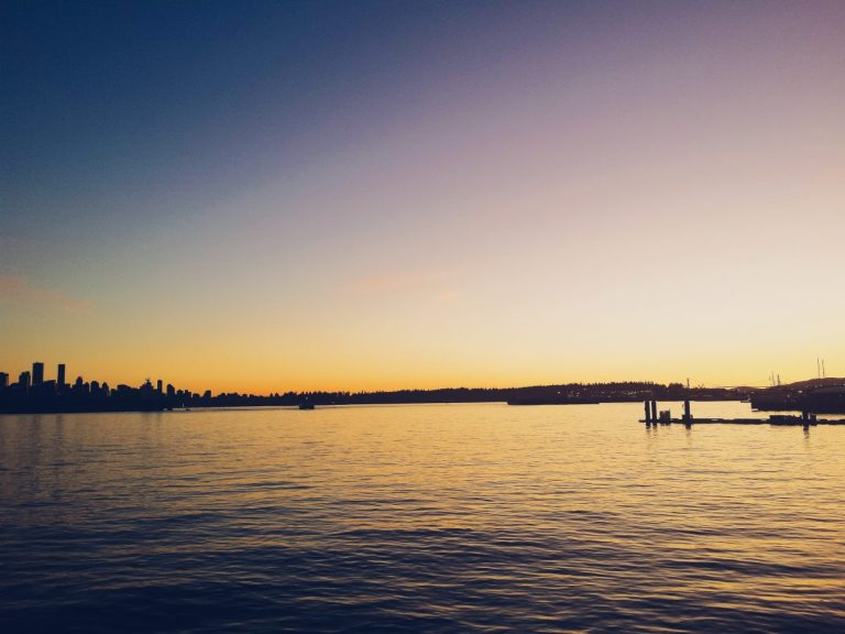 North Vancouver sunset