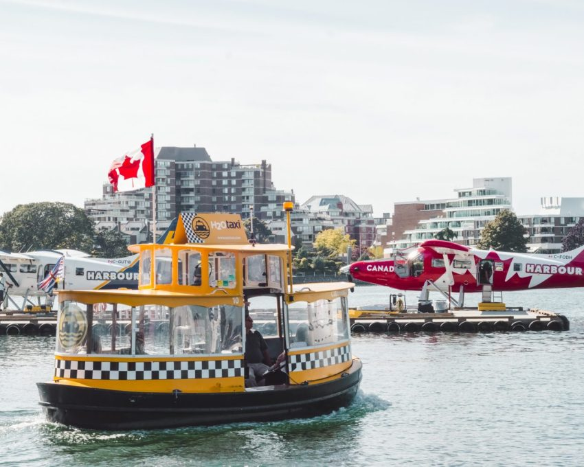 Victoria Ferry in British Columbia