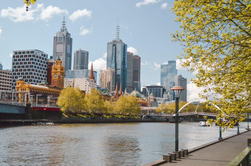 Another reason to love Australia - beautiful cities like Melbourne.