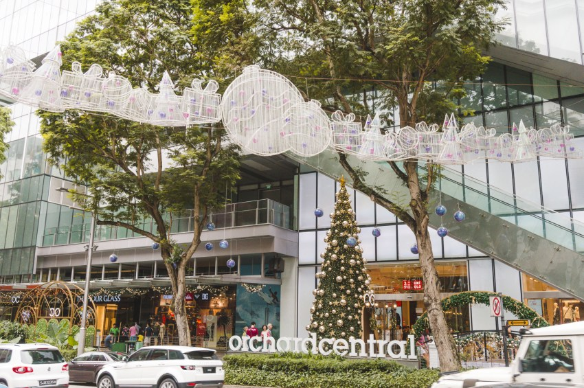 Singapore photos: Orchard Road