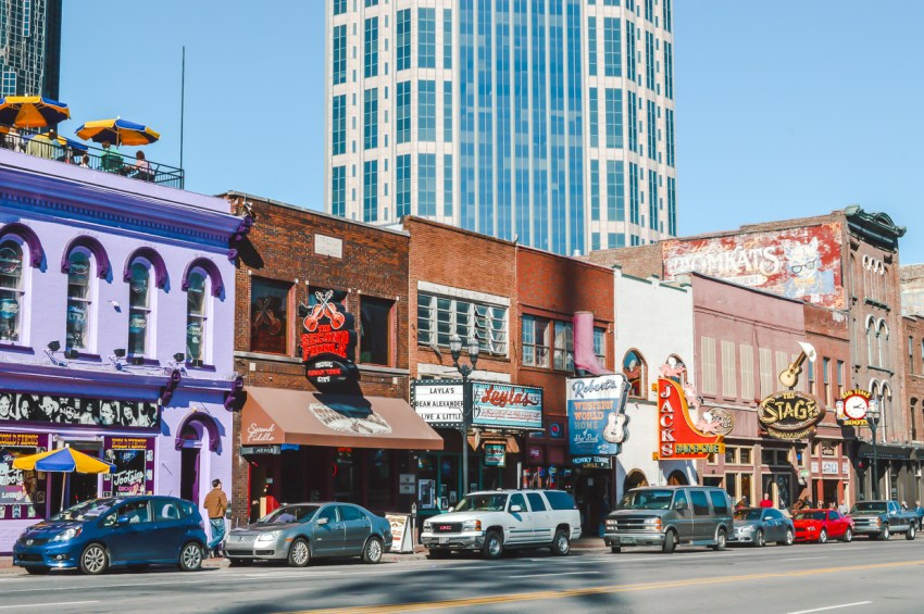 Best places to travel alone in the US: Nashville, Tennessee