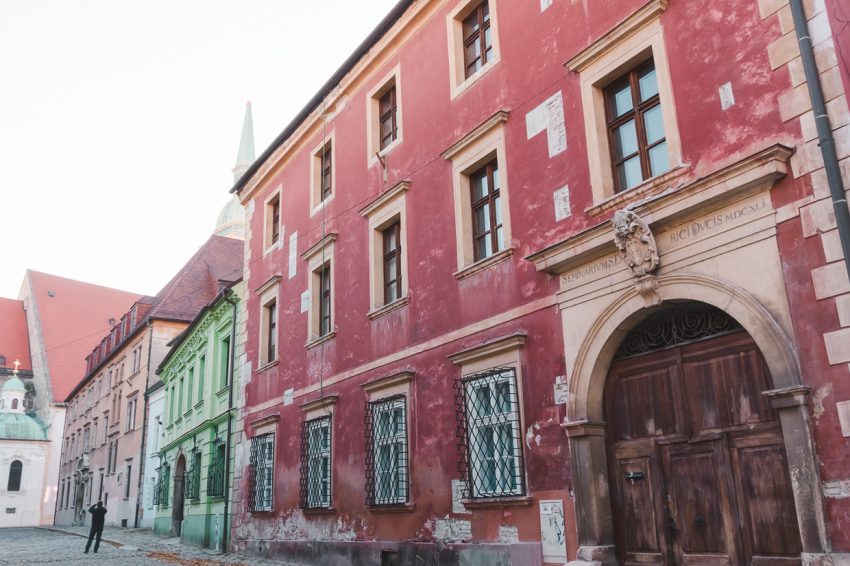 Wandering the streets of Bratislava, Slovakia - one of the cheapest cities in Europe