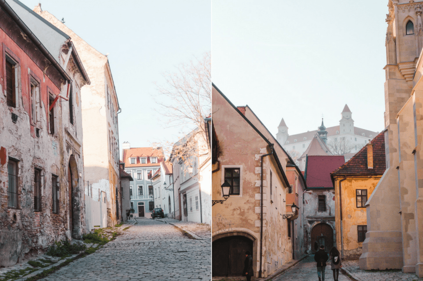 A day trip from Vienna to Bratislava