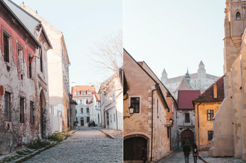 A day trip from Vienna to Bratislava