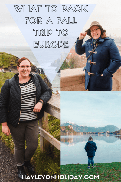 My Fall in Europe Packing List. Click to read what I packed for 10 weeks travelling across the UK and Europe in autumn.