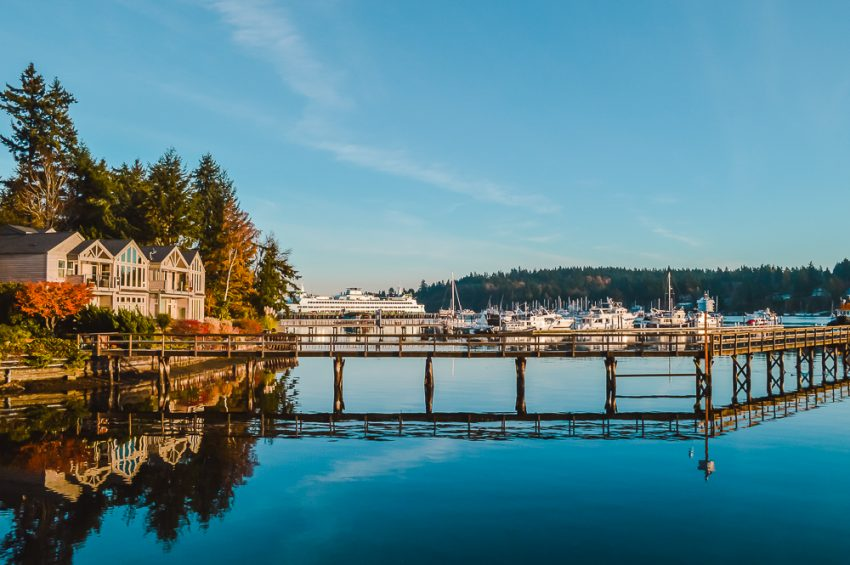 Bainbridge Island near Seattle, Washington