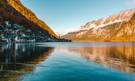Lakeside views in Hallstatt, Austria - one of the best day trips from Salzburg.