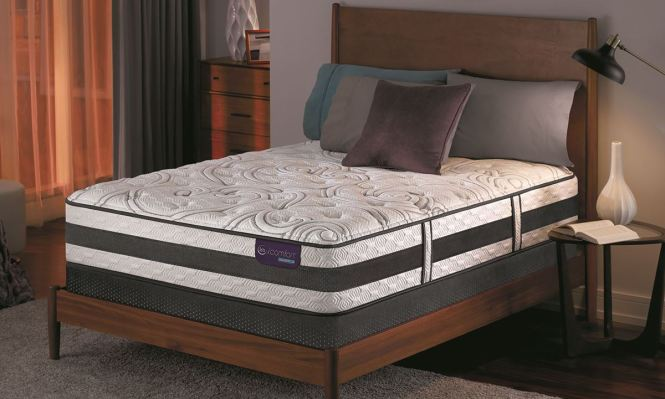 Picture Of Serta Icomfort Lause Ii Hybrid Plush Queen Mattress