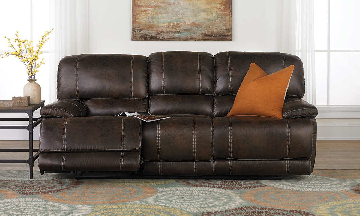 Haynes Furniture Klaussner Foster 90 Inch Power Reclining