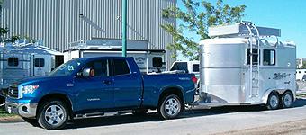 horse trailer storage