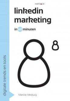 """Boek """"Linkedinmarketing in 60 minuten"""", afbeelding van Haystack"""
