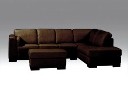 6103 LEATHER SECTIONAL WITH CHAISE