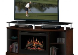 WINDHAM FIREPLACE MEDIA CONSOLE