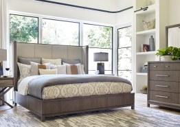 BEDROOM: HIGHLINE UPHOLSTERED BED