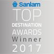 Sanlam Top Destination Awards Winner 2017