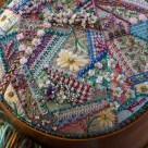 Hand Stitched Crazy Patchwork