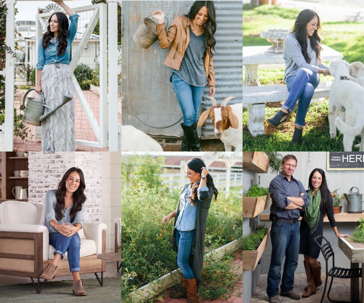 How to dress like Joanna Gaines: a guide to her wardrobe