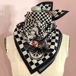 Scarf: Motorcycle Red