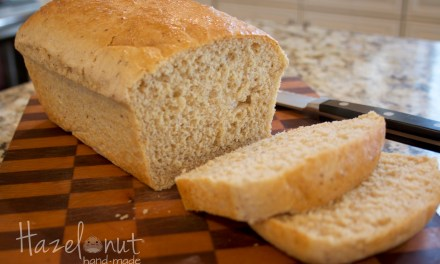 Tried and True Whole Wheat Bread Recipe