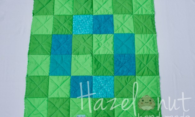 Snuggly Rag Quilt and Harem Pants