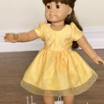 Belle Doll Dress