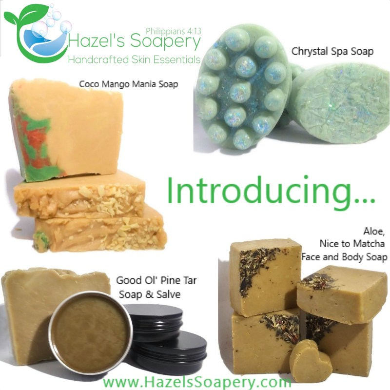 5 New Products Hazels Soapery