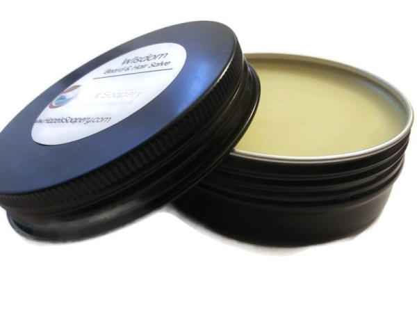 Hazels Soapery Wisdom All Natural Beard Salve