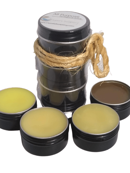 Hazels Soapery Body Salve Set