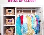 Ikea Dresser Turned Dress-Up Closet | Cape27BLog.com