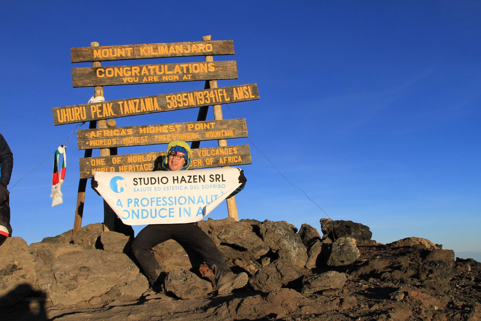 lou hazen kilimanjaro make-a-wish