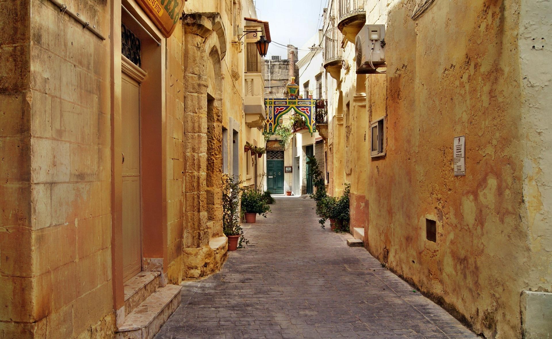 la valletta capitale europea della cultura - centro storico