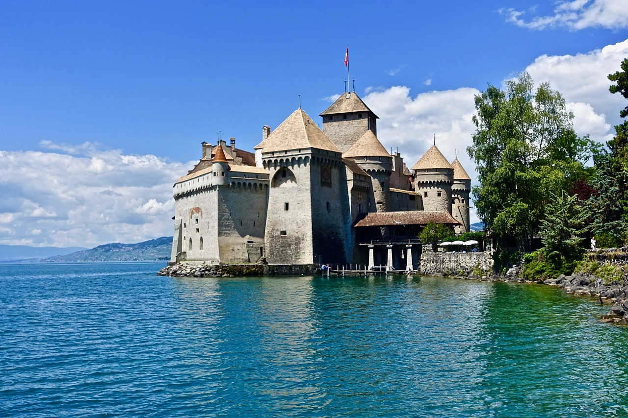 castelli europei - Castello di Chillon