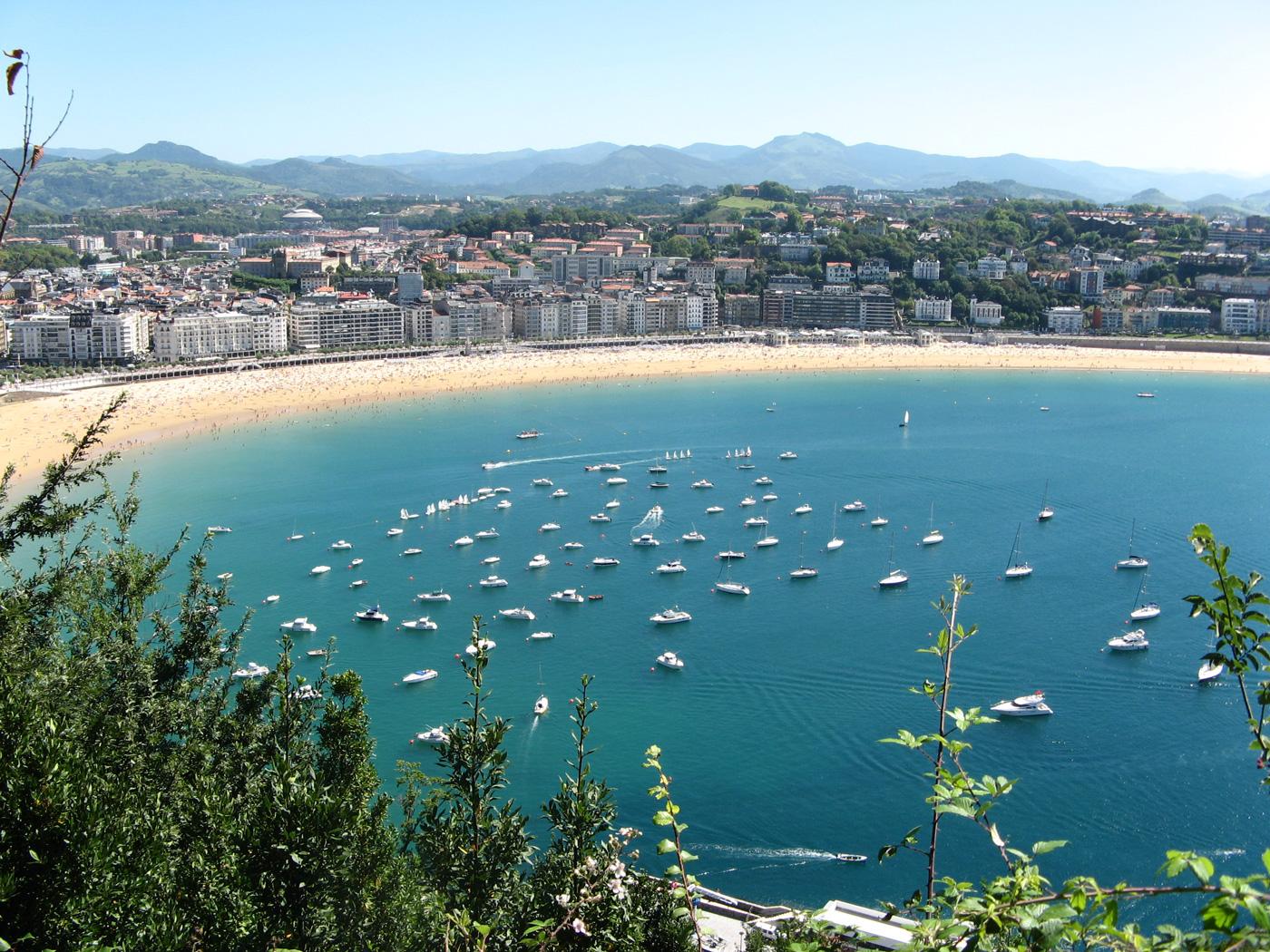 spiagge più belle - la concha - spagna