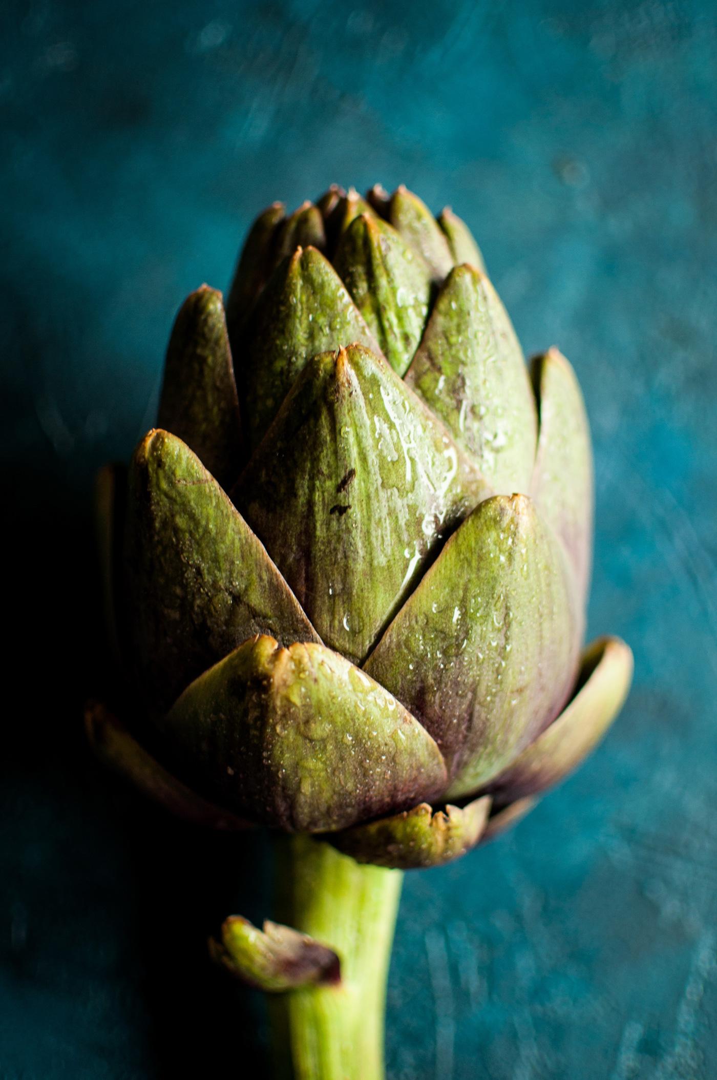 proprietà benefiche dei carciofi - fiore di carciofo