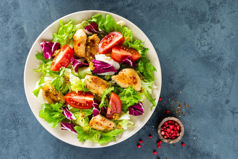 radicchio-nelle-insalate-invernali - pollo