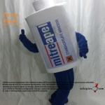 Mitre Apel Yapıştırıcı Maskot Kostümü