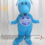 Köpek Maskot Kostümü / Farmina / Dog Mascot Costume