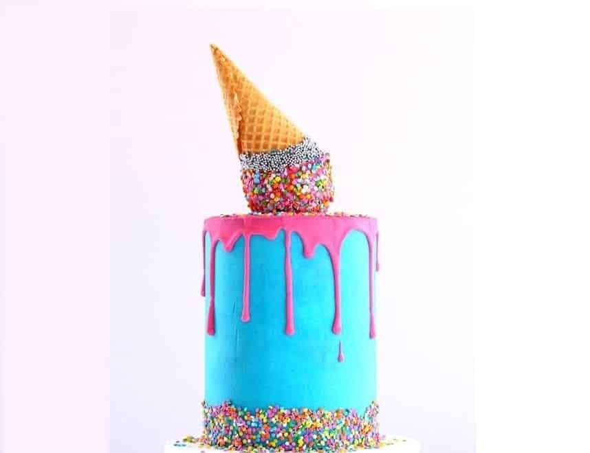 Deliciosas tartas de cumpleaños sacadas de un cuento