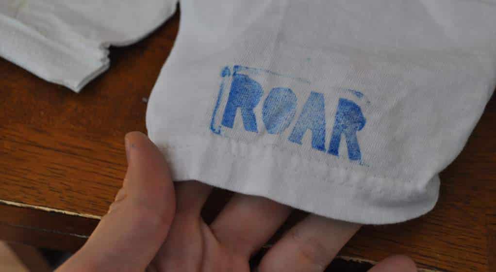 Cómo marcar tu ropa con sellos textiles