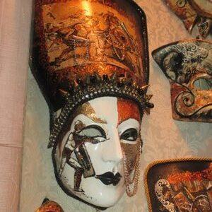 Farsang - maszk - Kleopátra