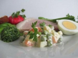 Húsvéti vacsora tányér - 5