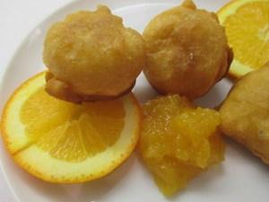 Kefíres fánk narancslekvárral