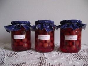 Cseresznyebefőtt készen