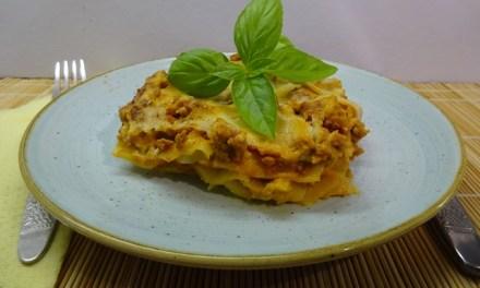 Lasagne – bolognai raguval