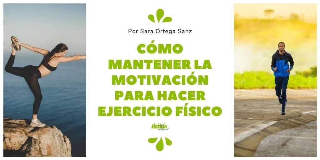 mantener la motivación para el ejercicio