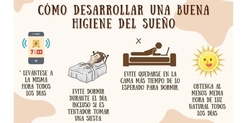 buena higiene del sueño