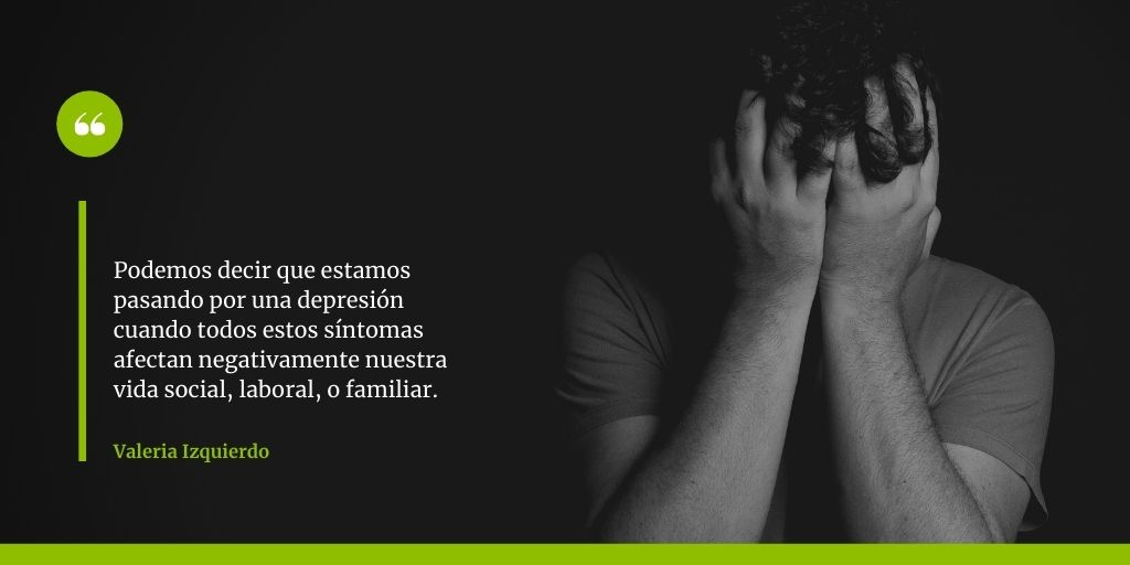 por qué nos deprimimos