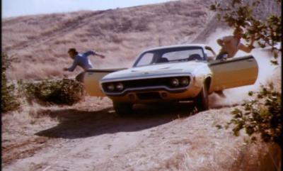 daisy duke's yellow roadrunner