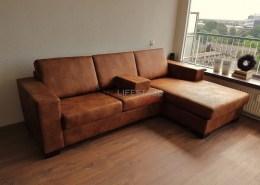 Huisdier bestendige loungebank terra kleur