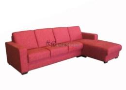 Rode lounge bank